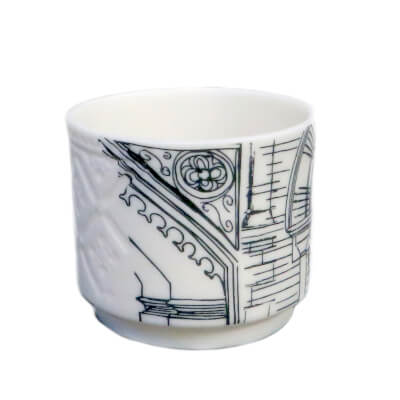Etched and Printed Ceramics