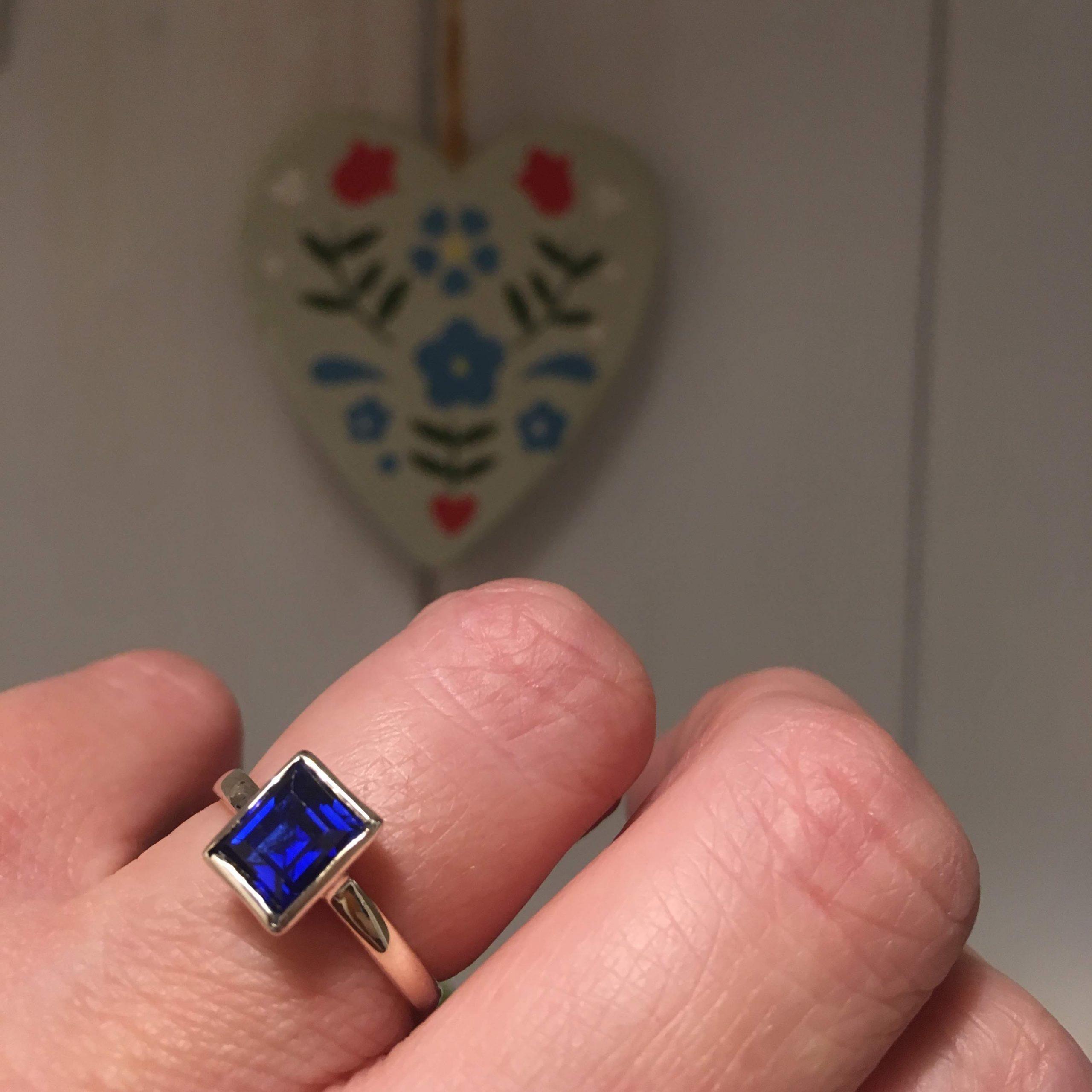 Reclaimed Deco Sapphire